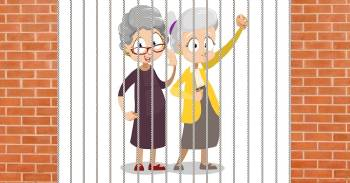 Enigma lógico: ¿cómo podrían haberse escapado estas abuelitas de la prisión?