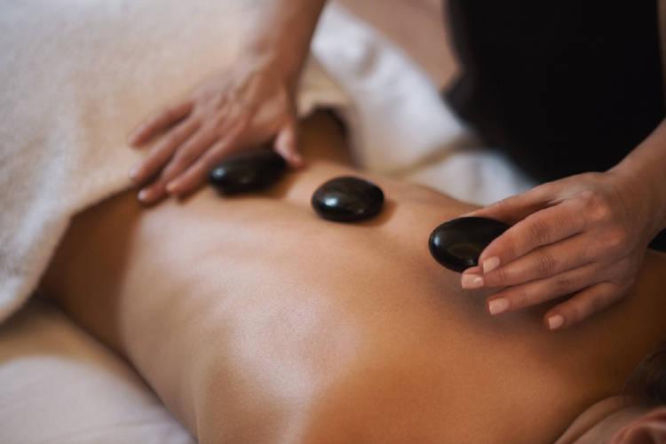 masaje piedras