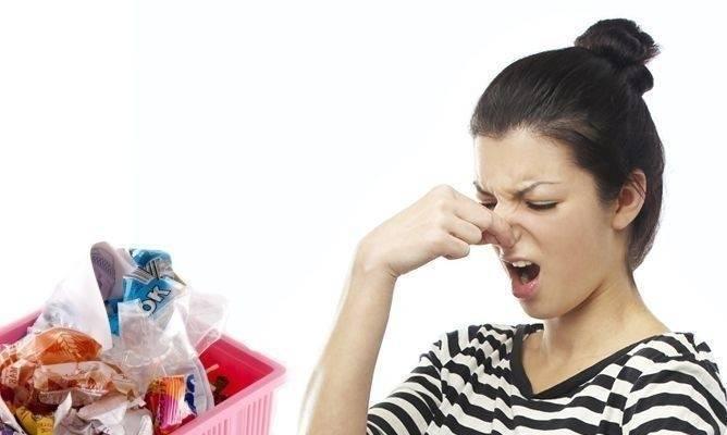 5 trucos para evitar el mal olor del cubo de basura
