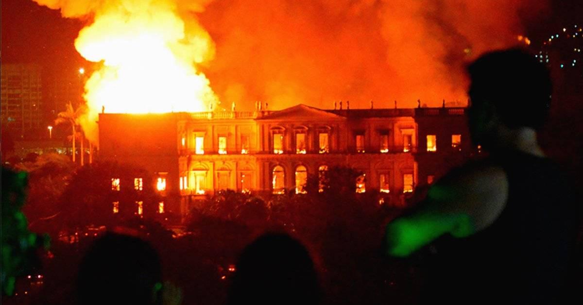 ¿Qué se perdió en el incendio que destruyó el Museo Nacional de Río de Janeiro?