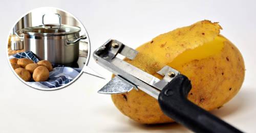 Cómo hacer un limpiador ecológico con cáscaras de patata