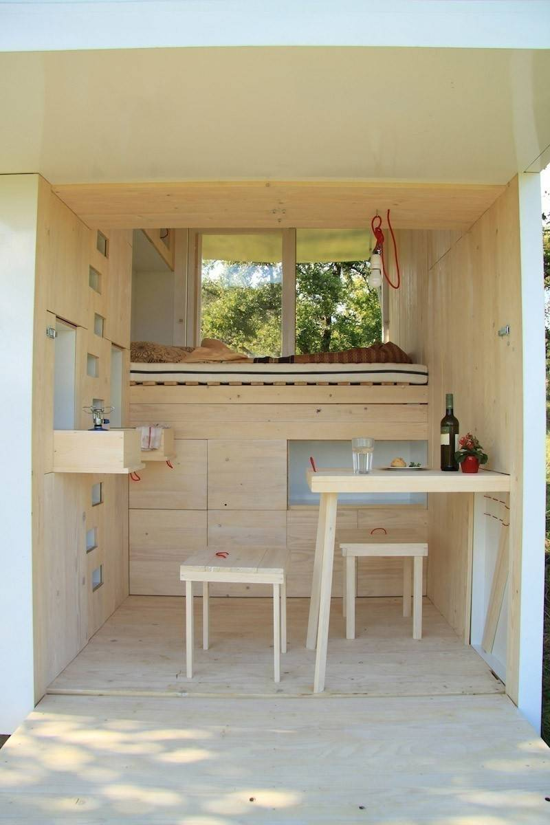 Una casa que desafía todas las concepciones de diseño en espacios pequeños