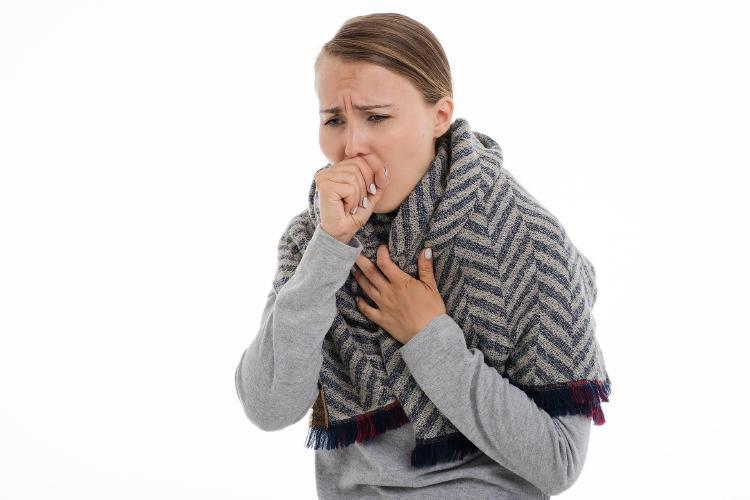 infección respiratoria.