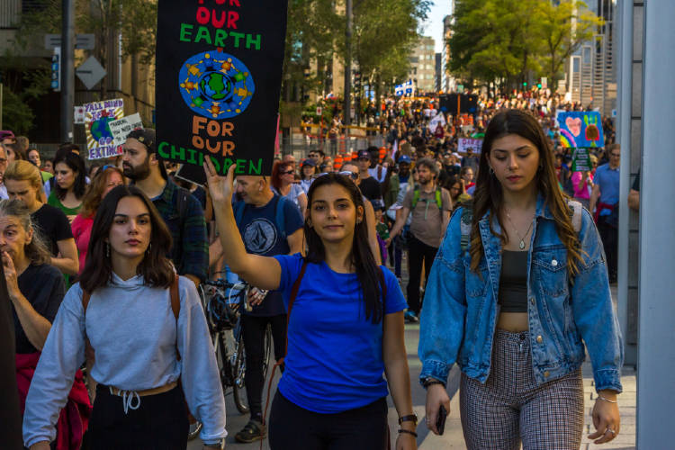 mujeres huelga clima