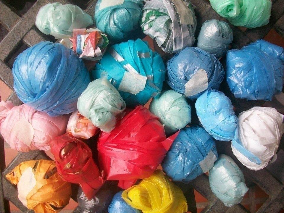 Cómo reutilizar bolsas de plástico