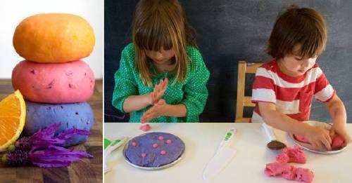 Cómo hacer masa casera de moldear, ¡para tus niños!