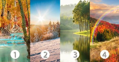 El test de los paisajes: conoce las características principales de tu psicología emocional