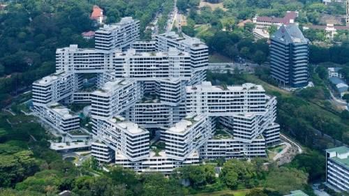 Edificios especialmente diseñados para vivir en comunidad en ciudades superpo..