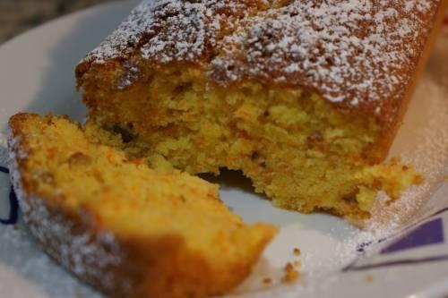 Torta de zanahoria sin huevo, aceite ni manteca