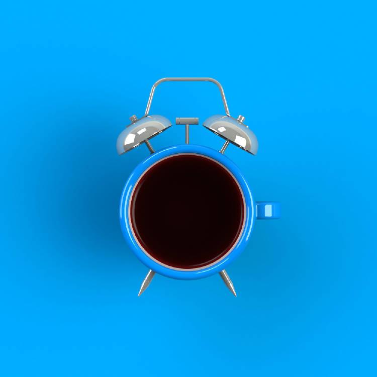 reloj cafe