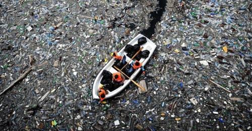 Esta mancha de basura es 3 veces más grande que Francia y su plástico llegar..