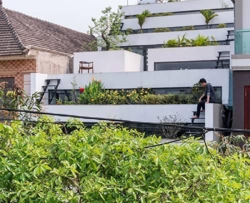 Una casa con mil terrazas para producir alimentos en tiempos de crisis