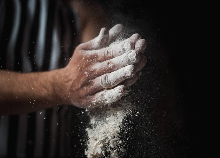 manos harina