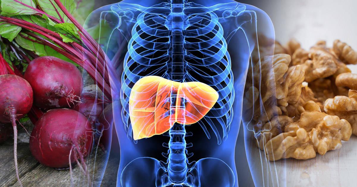 10 alimentos para depurar el hígado