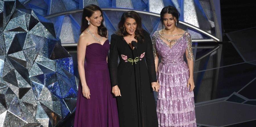 Las victimas de Harvey Weinstein estuvieron presentes