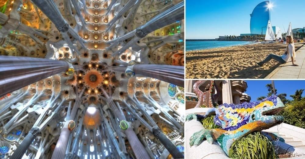 3 razones para enamorarte de Barcelona