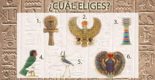 Escoge un jeroglífico egipcio antiguo y descubre qué dice de ti