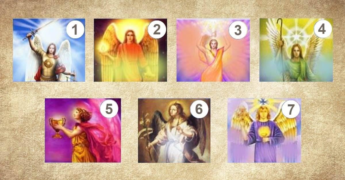 Escoge unos de los 7 mensajeros de luz y descubre el mensaje que tiene para tu vida