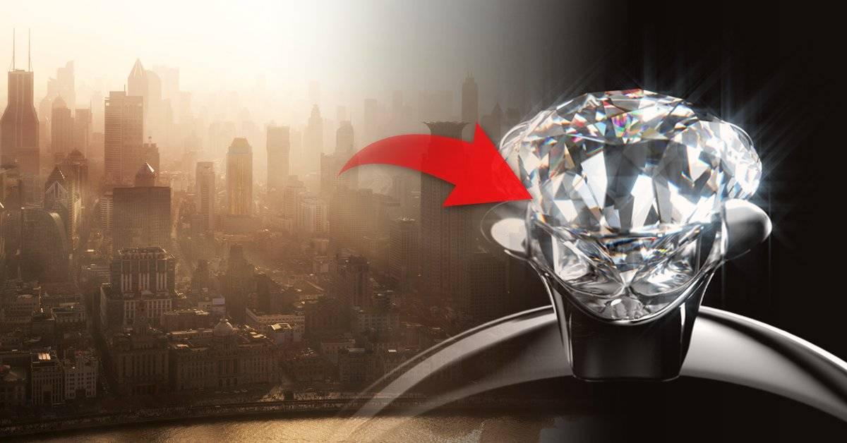 Inventó la aspiradora más rara del mundo: ¡convierte en diamantes el smog!