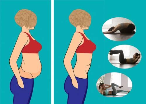 reducir cintura y vientre 25 minutos