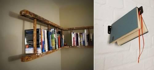 Las 6 mejores ideas para construir libreros baratos y creativos en casa