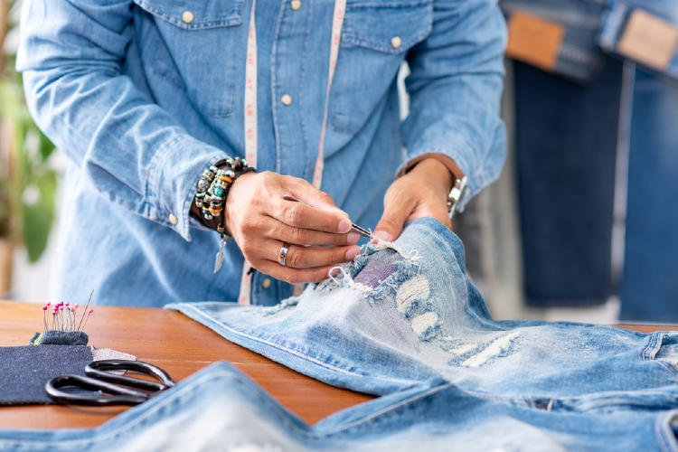 jeans diy upcycling