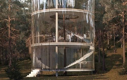 """Una """"casa del árbol"""" de lujo que revoluciona la forma de vivir en contacto co.."""