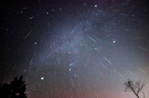 geminidas lluvia meteoros meteoritos