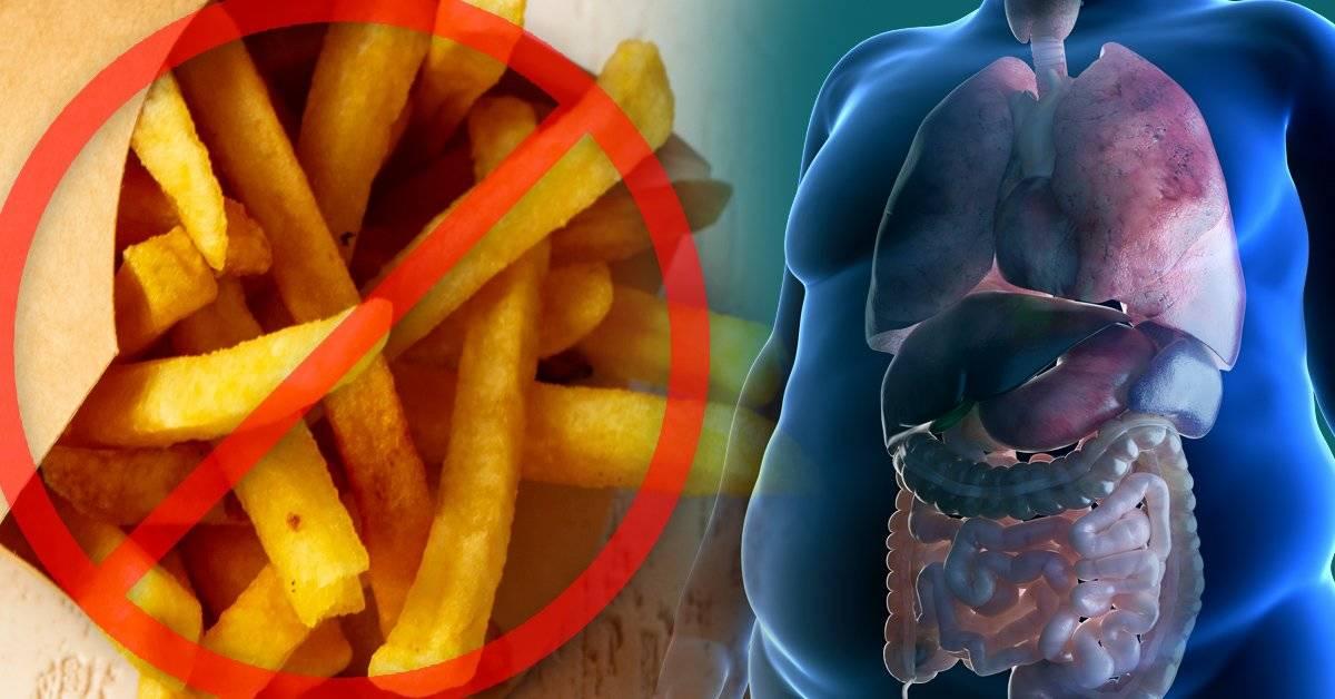 Estas son las 3 razones por las que debes dejar de comer papas fritas desde ahor