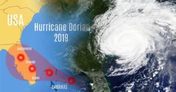 Las impactantes imágenes del Huracán Dorian