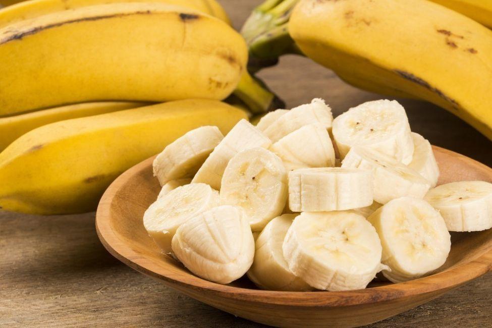 plátanos extremadamente maduros