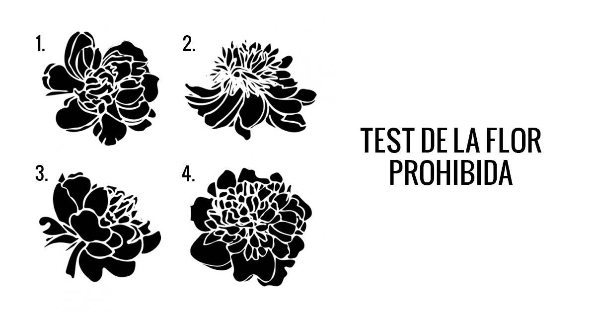 Test de la flor prohibida: elige una para saber cómo eres en la intimidad