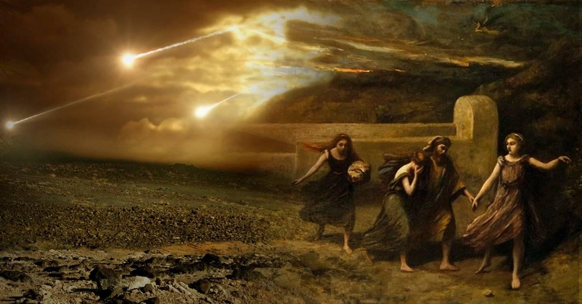 Científicos descubren que la destrucción de Sodoma y Gomorra podría haber sido causada por un meteorito