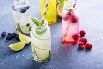 bebidas frutas