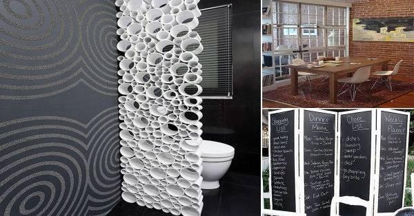15 ideas creativas para separar habitaciones