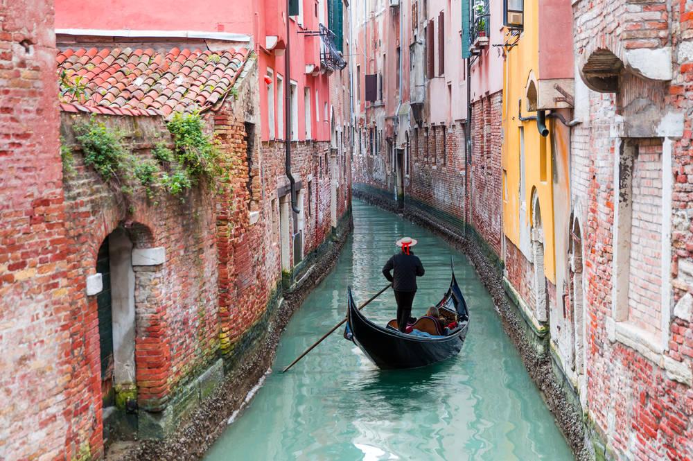 Por la cuarentena, los canales de Venecia tienen agua limpia y peces