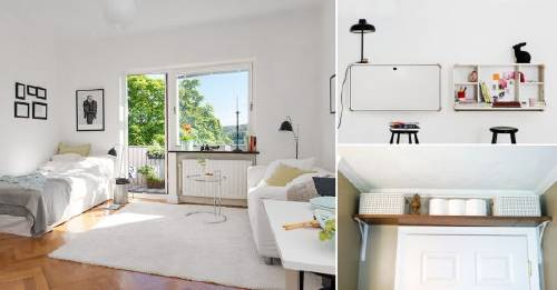 11 ideas para aprovechar al m ximo los apartamentos peque os for Ideas para organizar un apartamento pequeno