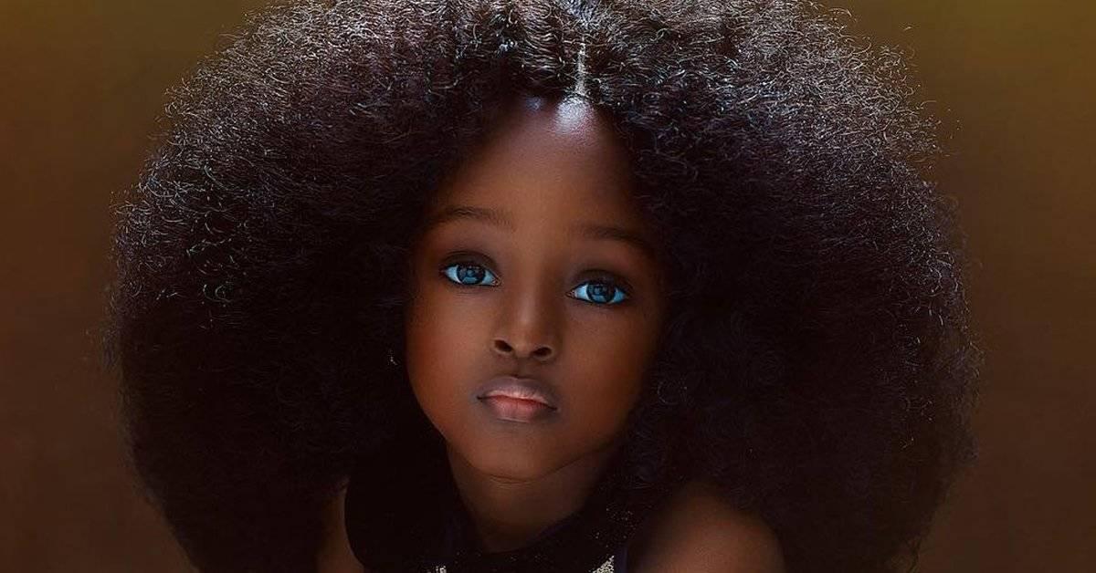 ¿Es ella la niña más hermosa del mundo? En internet piensan que sí y se desató la polémica