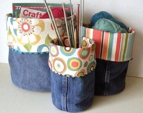 Ideas para reutilizar jeans en desuso