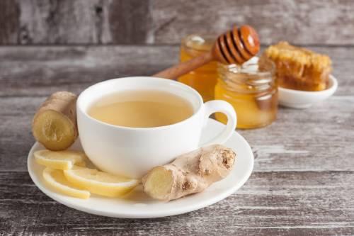 Simple y Recomendada Receta de Te de Jengibre con Miel y Limón