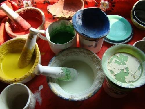 Pinturas caseras y naturales para el hogar