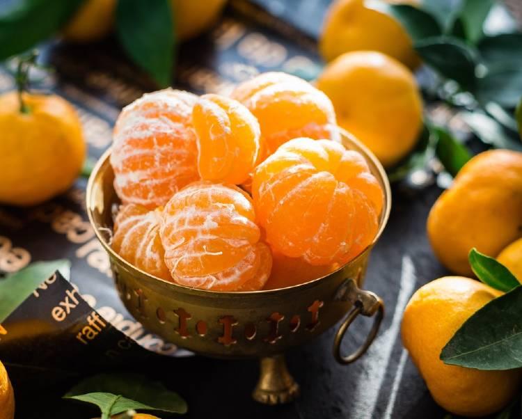 Mandarina: un alimento con menos de 50 calorías