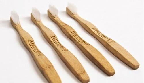 Cepillo de bambú biodegradable