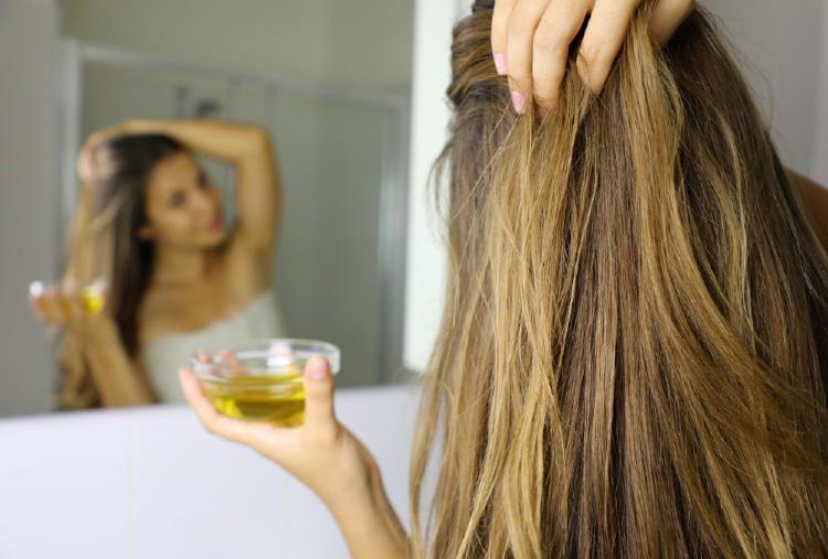 aceite cabello