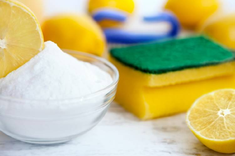 Bicarbonato y limón para la limpieza