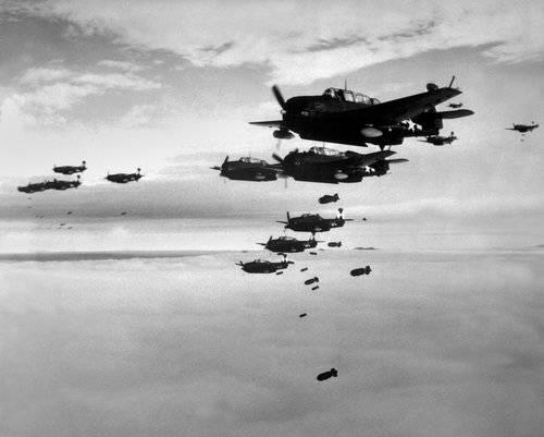 Los bombardeos de la Segunda Guerra Mundial alteraron la atmósfera del planeta