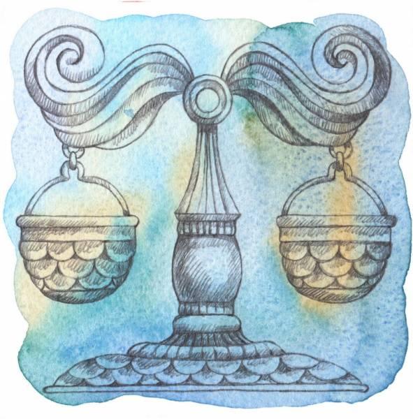 El signo del zodíaco Libra