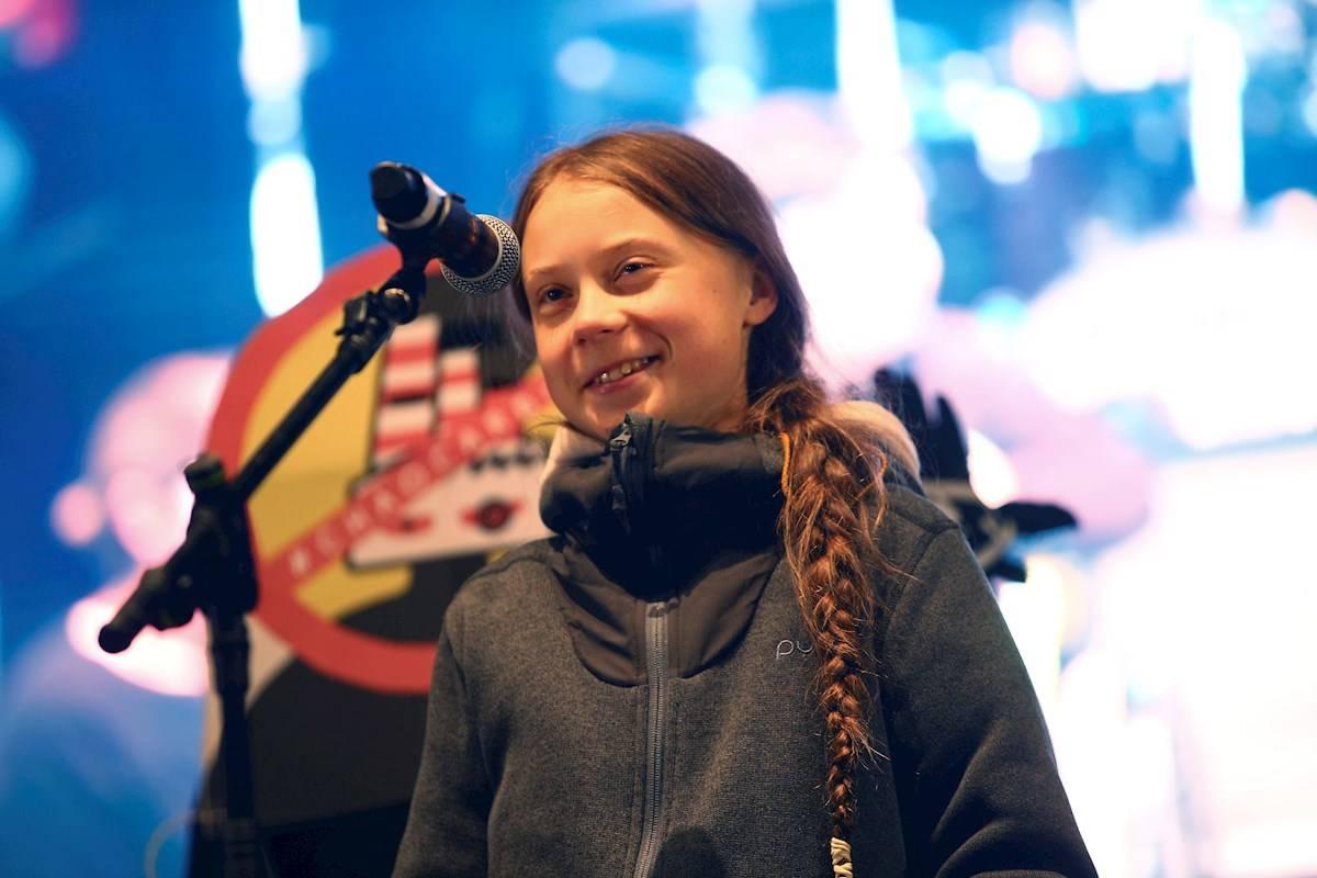 """Greta Thunberg es la """"Persona del Año"""" de la revista Time"""
