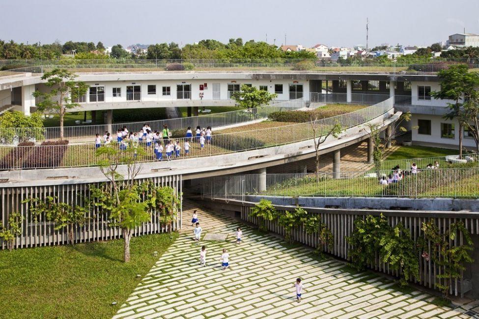 Estos niños van a un jardín ecológico en Vietnam- 4