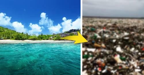 VIDEO: Una inmensa ola de plástico llega al Caribe, y es aterrador